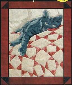 Pattern Only Catnap wool applique