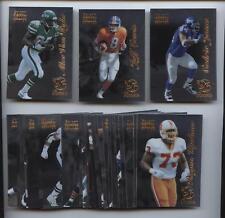 1996 Select Certified Rookies Football Set (30) NM/MT