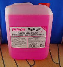 Yachticon 5l Frostschutz für Trinkwasser Toilettensysteme Frostschutzmittel Rosa