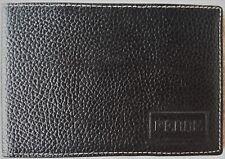 Portafoglio GIANFRANCO FERRE uomo anni '70 pelle vintage design firmato italiano