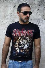 Slipknot ogni speranza è andato T-Shirt Rock Metal band heavy metal Cotone Nero S