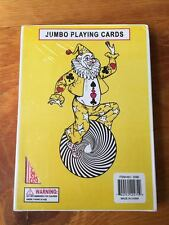"7"" x 5"" Giant Jumbo Playing Card Deck Standard Size - Red Back"