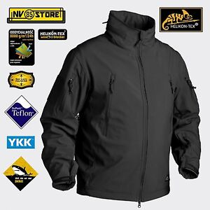 Softshell HELIKON-TEX GUNFIGHTER Giacca Jacket Softair Militare Outdoor BLACK