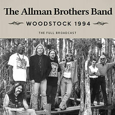 ALLMAN BROTHERS BAND New Sealed 2017 UNRELEASED 1994 WOODSTOCK LIVE CONCERT CD