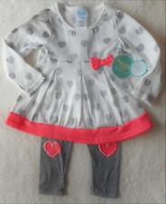 Mädchen Kleid Set 2tlg Kleid fleecegefüttert + HOSE  🐞  Langarm 86/92 🐞