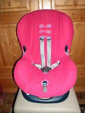 Sommerbezug Schonbezug Frottee für Maxi-cosi Priori und Priori SPS NEU pink