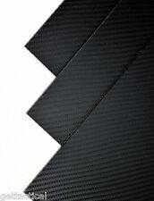 "1 Sheet of 7.5""x11.5"" Boltaron- 080-Blk Carbon Fiber-DIY Sheath/Holster Material"