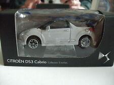 Norev Citroen DS3 Cabrio in Grey on 1:64 in Box