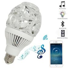 Smart Bulb Music LED Light with Bluetooth 4.0 Speaker RGB Multicolor Home Party