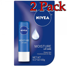 Nivea Moisture Lip Care, 0.17oz, 2 Pack 072140111953T183