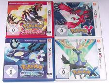 Spiele: POKEMON OMEGA RUBIN + ALPHA SAPHIR + X + Y für Nintendo 2DS, 3DS, 3DS XL