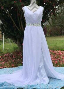 Beachy wedding gown size 12