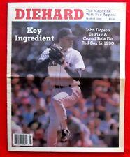 Diehard Boston Red Sox Newspaper March 1990 Cover: John Dopson jmc2