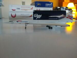 Gemini Jets British Airways Concorde 1:400 G-BOAE GJBAW538