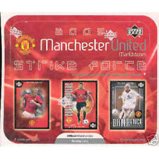 MANCHESTER UNITED - 2003 'Strike Force' Soccer Cards Box (Sealed) #NEW