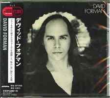 DAVID FORMAN-S/T-JAPAN CD C41