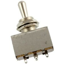 3-Way Boxed Toggle Switch for Import Guitar/Bass LP Epiphone - CHROME Metal Tip