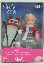 (Barbie Kelly)  Shelly Club Nikki winter set from 2000 NRFB European version