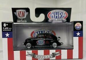 M2 MACHINES '1953 VW Beetle Deluxe NHRA Racing Walmart Exclusive