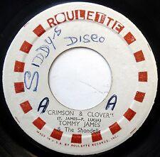 TOMMY JAMES & SHONDELLS 45 Crimson & Clover / Some Kind VG++ Rock JA PRESS c1405