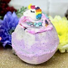 Unicorn Rainbox bath bomb Jasmine, Lily, Vanilla and Sandlewood flavour gift
