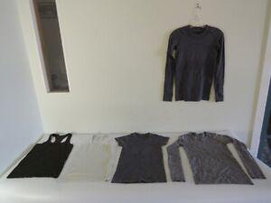 Lululemon Lot of FIVE Swiftly Tech Shirts Tanks Long Short Sleeve Size 4