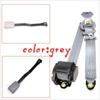 Gray Steel Heat Treatment Car Automatic Shrinkage Belt Three-Point Seat Belt