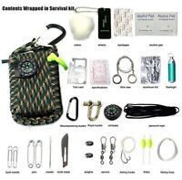 29 in 1 SOS Emergency Tactical Survival Equipment Kit Gear Tool Outdoor Camping
