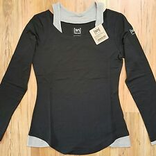 Super.Natural Sn Merino Wolle Longsleeve XS 34 Pliant  Detail 175 Yoga Pilates