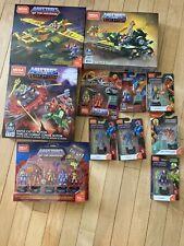 Mega Construx MOTU He-Man Lot - Scareglow, Skeletor, Stratos Etc.