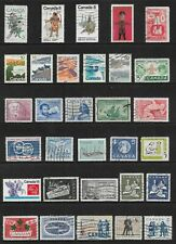 CANADA mixed collection No.105, used