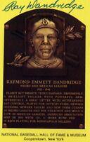 Ray Dandridge Autographed Hall of Fame Card