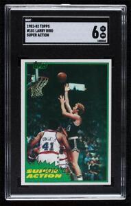 1981-82 Topps Larry Bird #101E SGC 80 HOF
