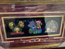 WDI Christmas 2018 AP 3 Pin Framed Set Aristocats Lilo Stitch LE 250 Disney