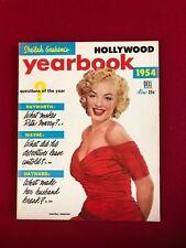 "1954, Marilyn Monroe, ""HOLLYWOOD YEARBOOK"" Magazine (No Label) Scarce / Vintage"