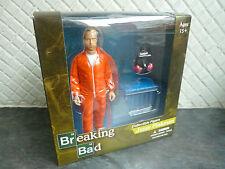 "Breaking Bad Jesse Pinkman 6"" Action Figure Orange Hazmat Mezco Vamonos Pest"
