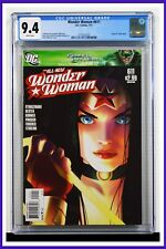 Wonder Woman #611 CGC Graded 9.4 DC July 2011 White Pages Comic Book.