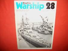Warship Profile 28, USS INDIANAPOLIS CA-35 Heavy Cruiser 1932-1945