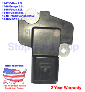 New OEM Mass Air Flow Sensor MAF for Ford C-Max Focus Fusion Transit Connect MKZ