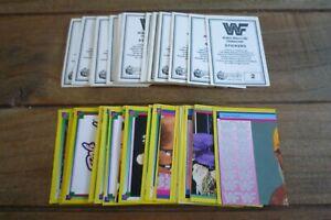 Merlin WWF Wresting Stickers From 1993 - VGC! Bret Hart Album - Pick Stickers!