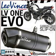 SILENCIEUX LEOVINCE LV ONE EVO CARBON 8290 HOMOLOGUÉE EVOII BMW F 800 R ie 2015