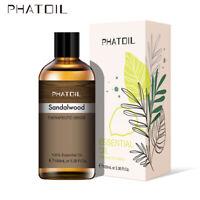 100ML Sándalo Puro Aromaterapia Aceites Esenciales Fragancias de Aceite Orgánico