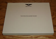 Original 2016 Bentley Mulsanne Range Hardcover Book Sales Brochure w Case 16