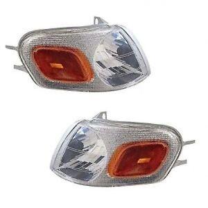 Fits Chevy/Olds/Pontiac Corner Light Turn Signal Lamp - PAIR