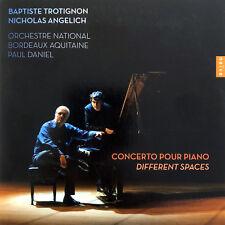 Baptiste Trotignon / Nicholas Angelich CD Concerto Pour Piano - Different Spaces