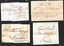 Spain covers 1770-1839 4 attractive folded letters  Interesting!