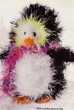 ADORABLE Chills the Penguin/Toy/ Crochet Pattern INSTRUCTIONS ONLY
