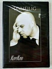 Unheilig Kopfkino 2005 DVD Gótico Rock Industrial Rpv 22