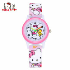 Hello Kitty Children's Watch Cartoon for Kids Wristwatch High Quality -FREE SHIP
