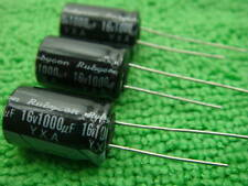 500 X Rubycon 16V 1000UF Electrolytic Capacitor 10*16mm